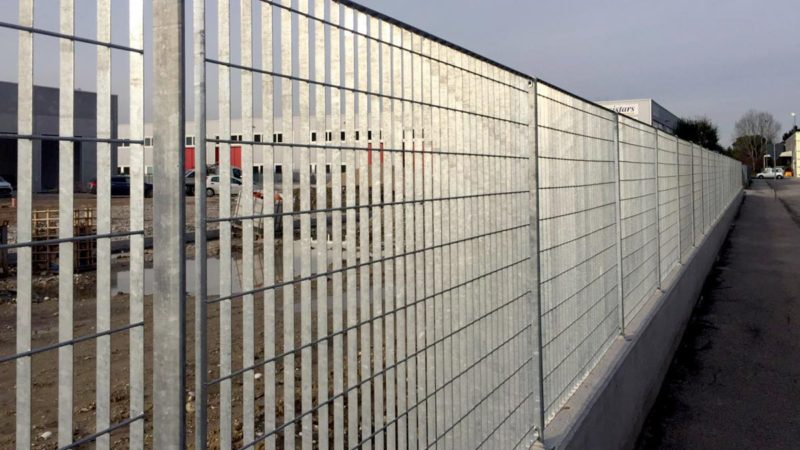 Grigliati Tecnici Grilsystem recinzione ad uso industriale